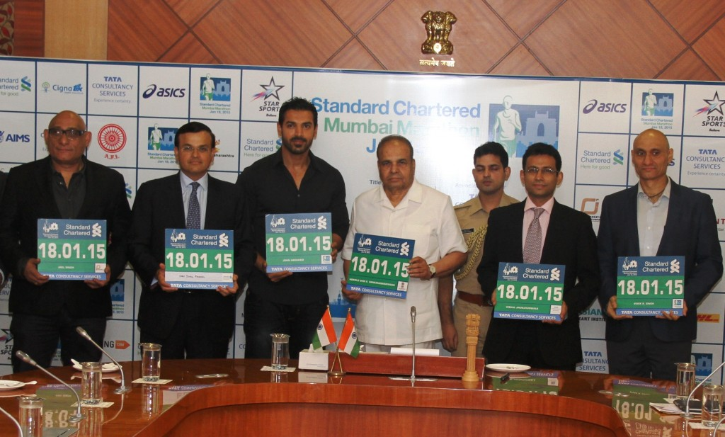 Launch of Registration for the Standard Chartered Mumbai Marathon 2015