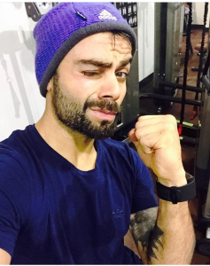 Virat Kohli and his love for a Fitness Band.1_Fatmarathoner.com