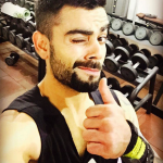 Virat Kohli and his love for a Fitness Band