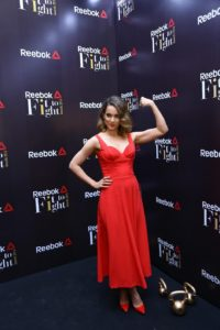 Kangana Ranaut, Brand Ambassador Reebok India at FitToFight Awards night