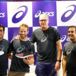 Kane Williamson & Tom Moody meet with fans at Asics Hyderabad store